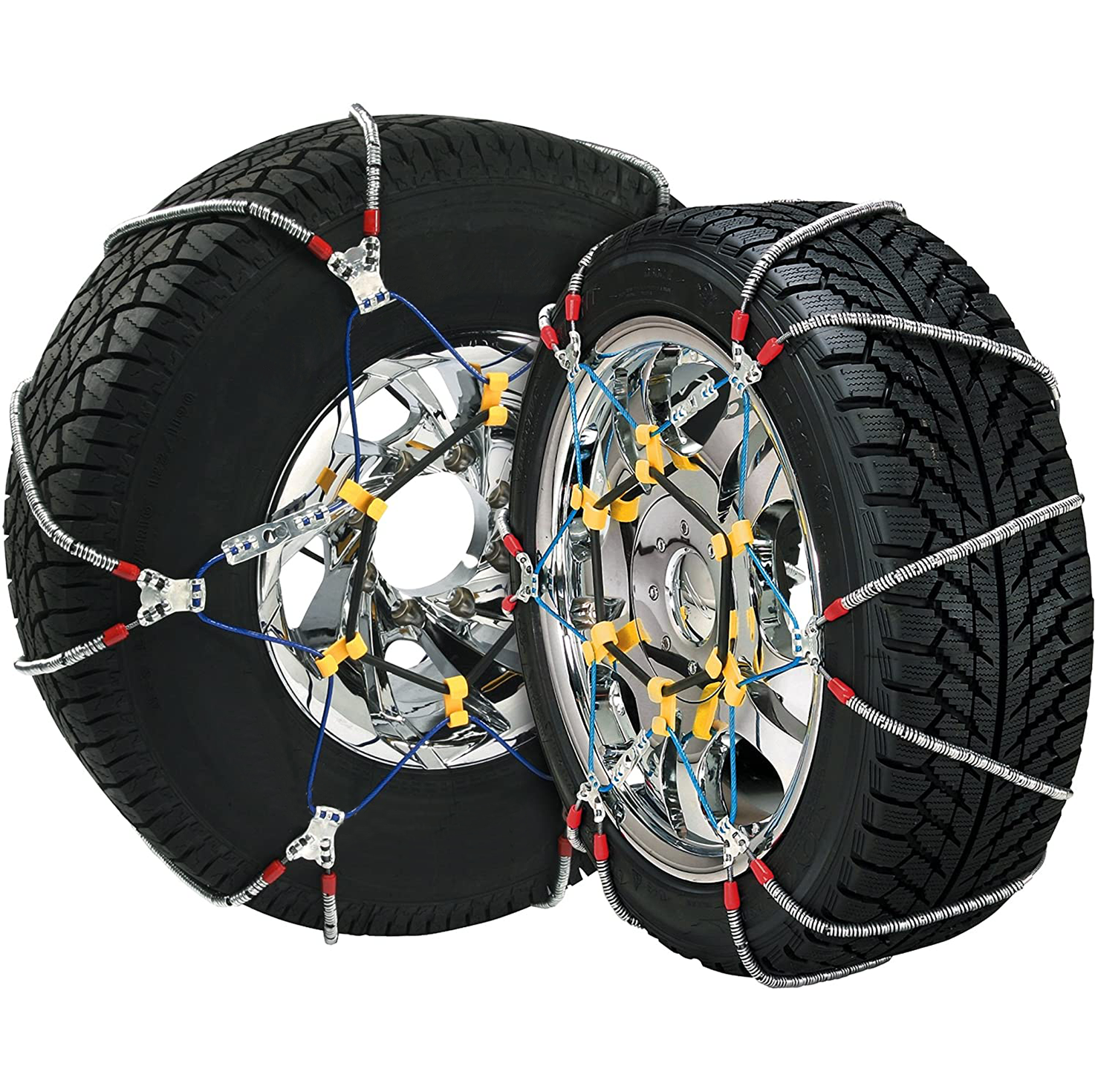 Security Chain Company SZ115 Super Z6 Cable Tire Chain for Passenger Cars, Pickups, and SUVs - Set o